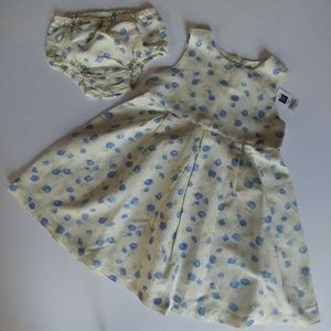 Vintage 90s Deadstock Gap Dress & Bloomer Panty 3T